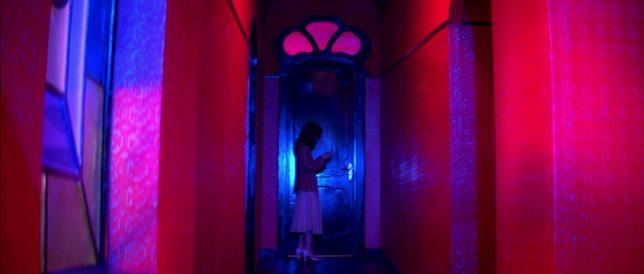 Una scena tratta dal film di Dario Argento, Suspiria