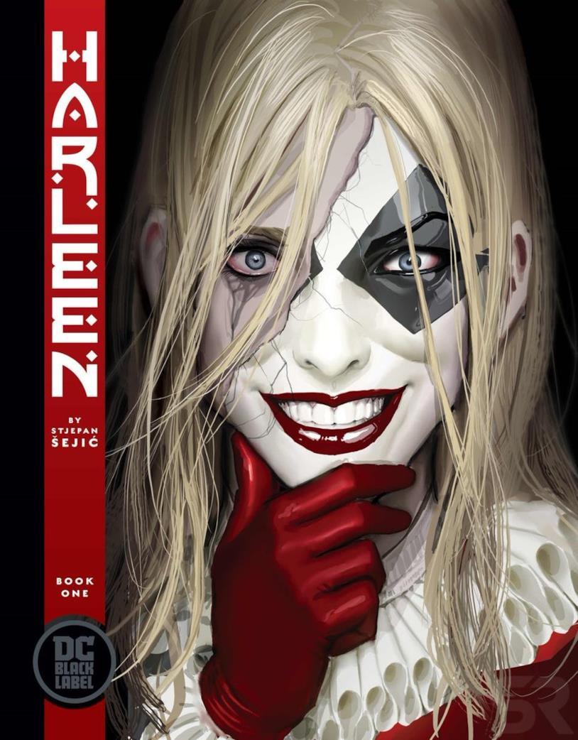 Poster della mini-serie a fumetti Harleen