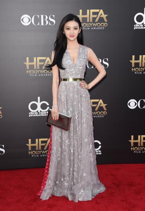 L'attrice Tian Jing