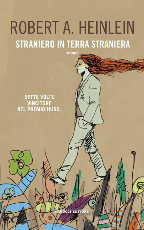 La copertina italiana di Straniero in terra straniera