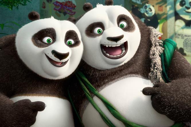 Po e Li in Kung Fu Panda 3