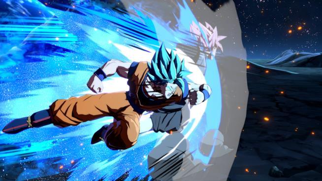 Goku SSB in Dragon Ball FighterZ