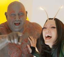 Un'immagine di Drax e Mantis