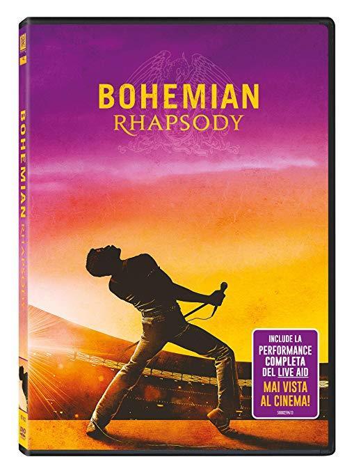 Copertina DVD Bohemian Rhapsody