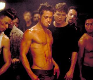 Fight Club, una scena del film