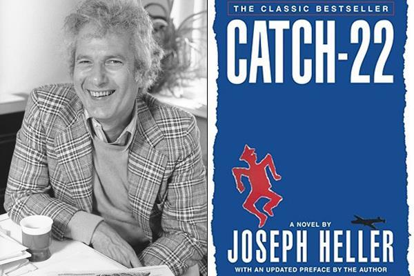Joseph Heller, autore del romanzo Catch-22
