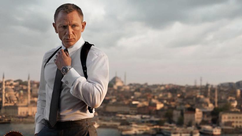 Daniel Craig è James Bond in Skyfall
