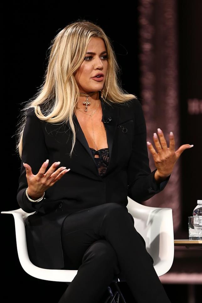 Una contrariata Khloe Kardashian!