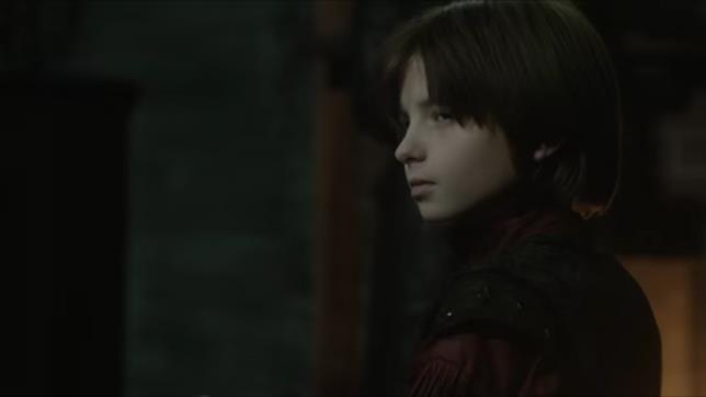 Oilver Bell interpreta il diabolico piccolo John