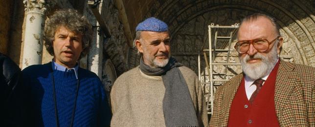 Jean-Jacques Annaud, Sean Connery e Umberto Eco