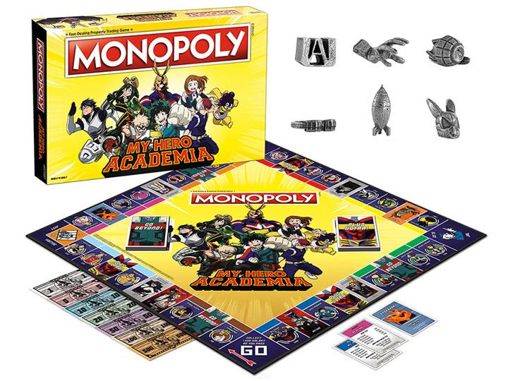 My Hero Academia Monopoli contenuto interno