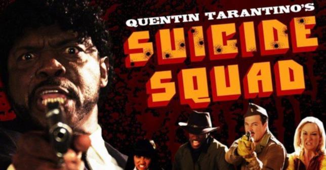 La Suicide Squad con i personaggi di Quentin Tarantino