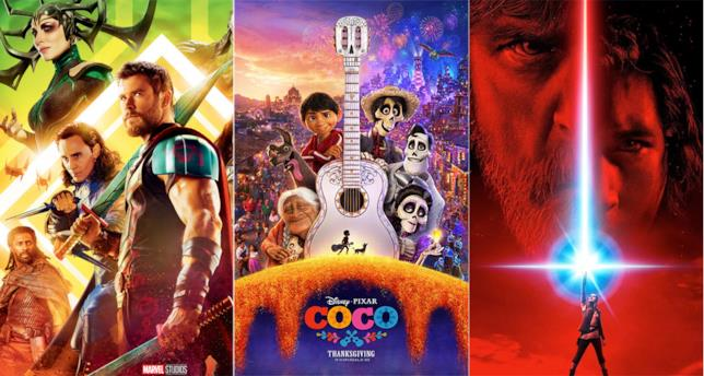 Thor: Ragnarok, Coco e Star Wars 8