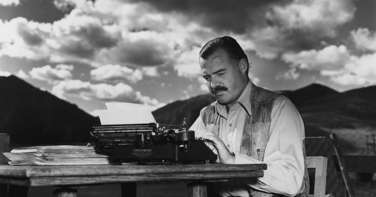 Le Migliori Frasi Di Hemingway