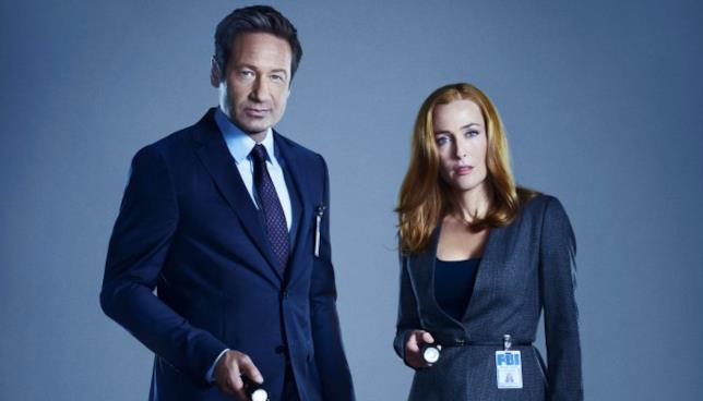 Mulder e Scully X-Files