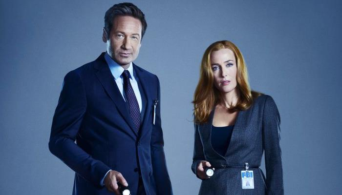 Mulder e Scully X-Files