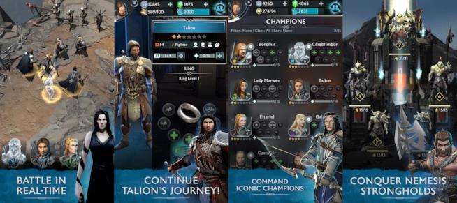 La Terra di Mezzo: L'Ombra della Guerra è disponibile su iOS e Android