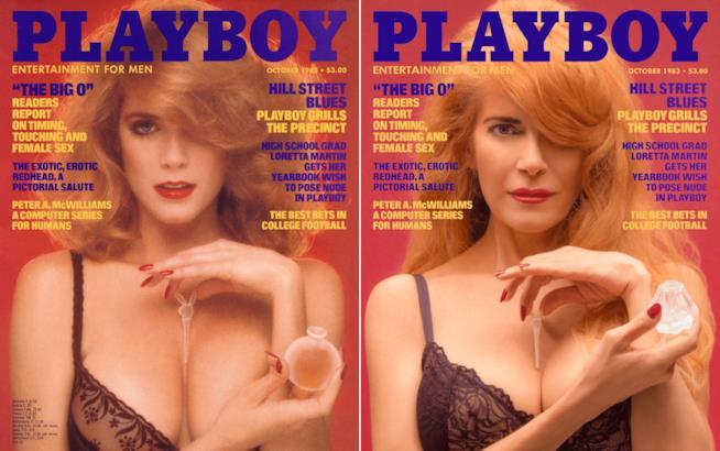 Charlotte Kemp in posa per playboy