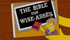 Homer annega nel suo diluvio universale