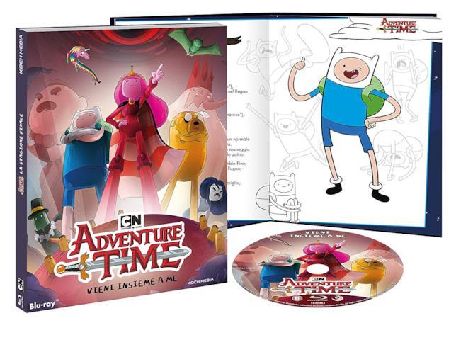 Il cofanetto Blu-ray di Adventure Time 10