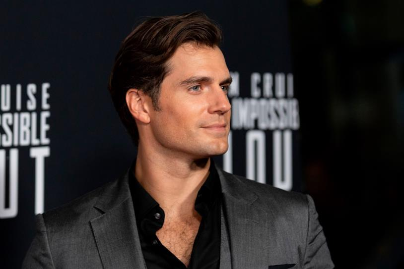 Henry Cavill sul red carpet per Mission Impossible: Fallout
