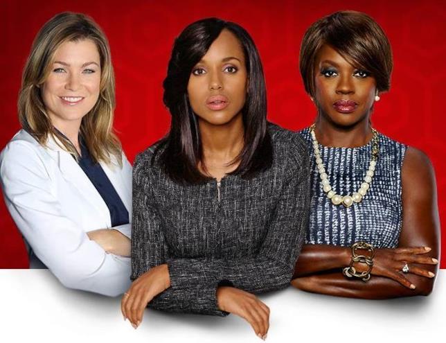 Le protagoniste di alcune delle serie di successo della ABC