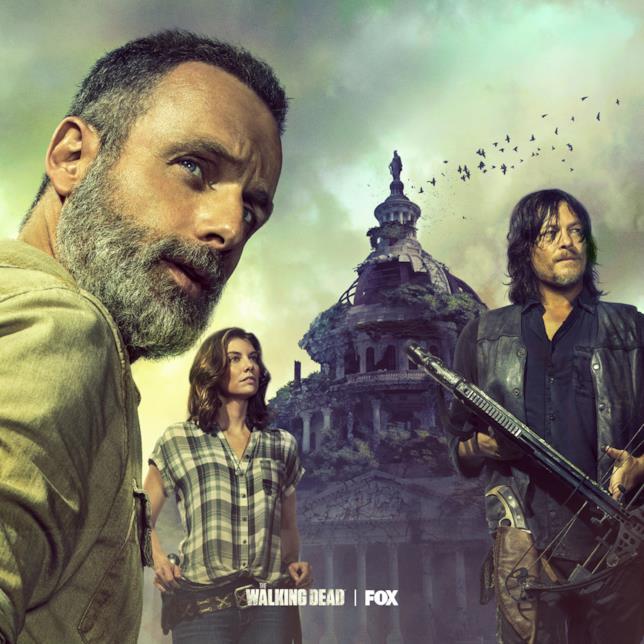 Il poster per il trailer di The Walking Dead 9