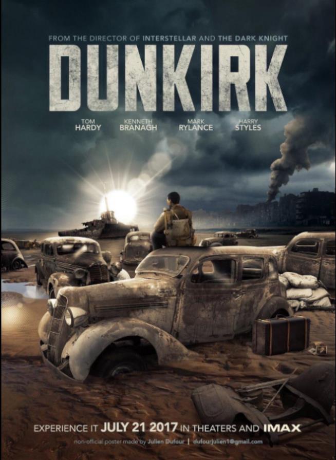 Dunkirk, il poster del nuovo film di