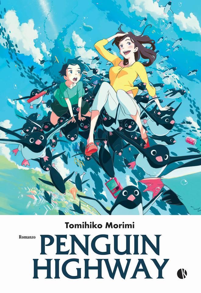 La copertina di Penguin Highway
