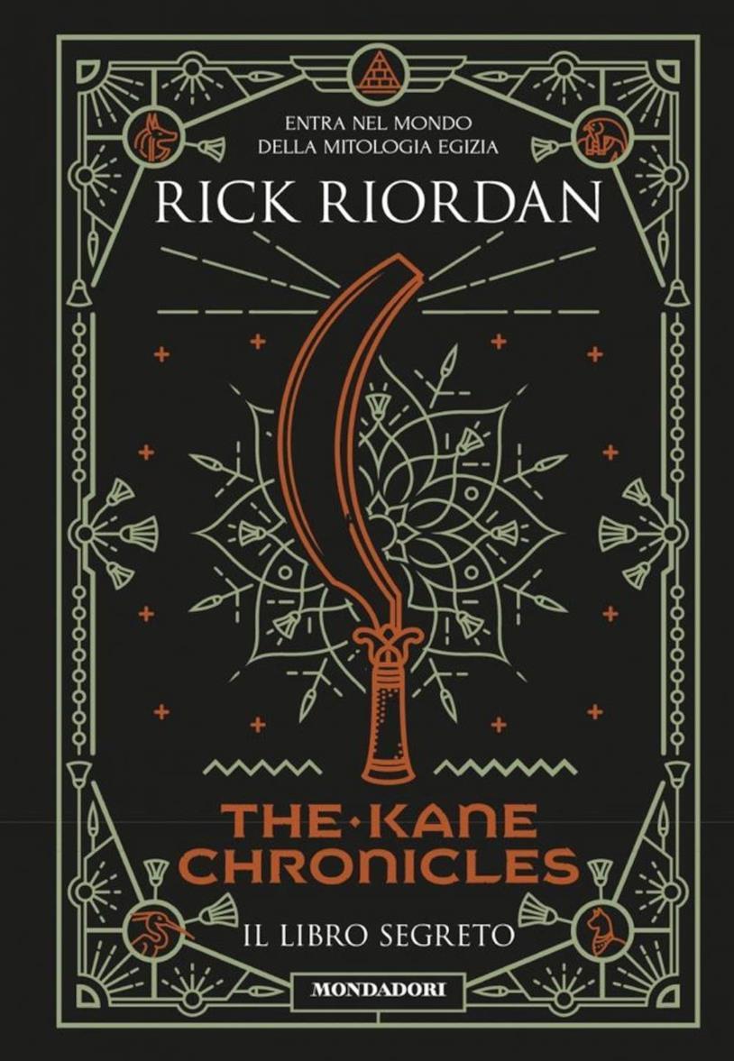 Un'immagine della copertina di The Kane Chronicles, Il libro segreto