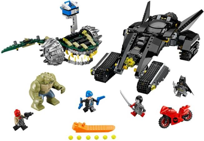 Veicoli e personaggi del nuovo set LEGO della linea Super Heroes