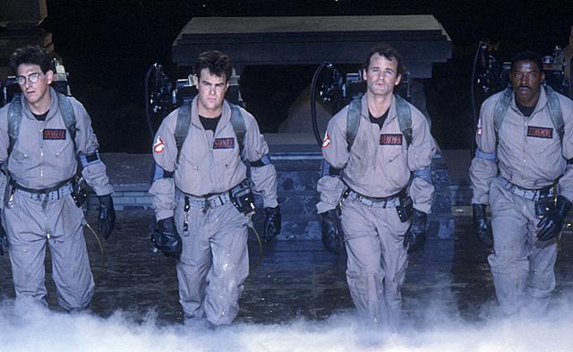 I protagonisti di Ghostbusters