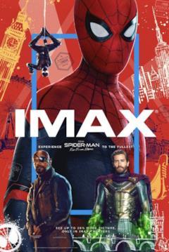 La locandina IMAX di Far From Home