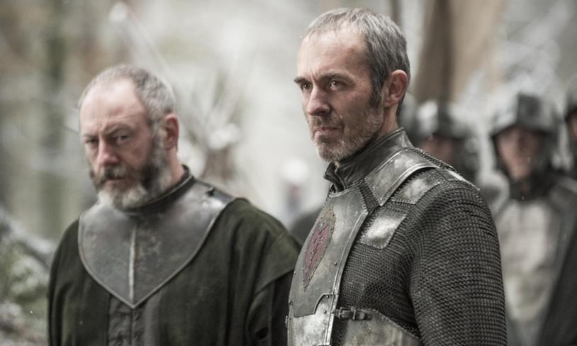 Stephen Dillane è Stannis Baratheon, zio di Gendry