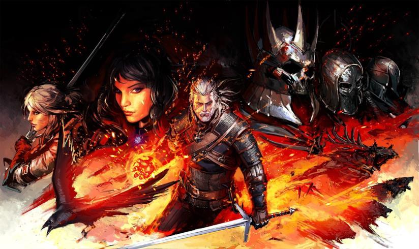Alcuni dei personaggi più amati della saga di The Witcher