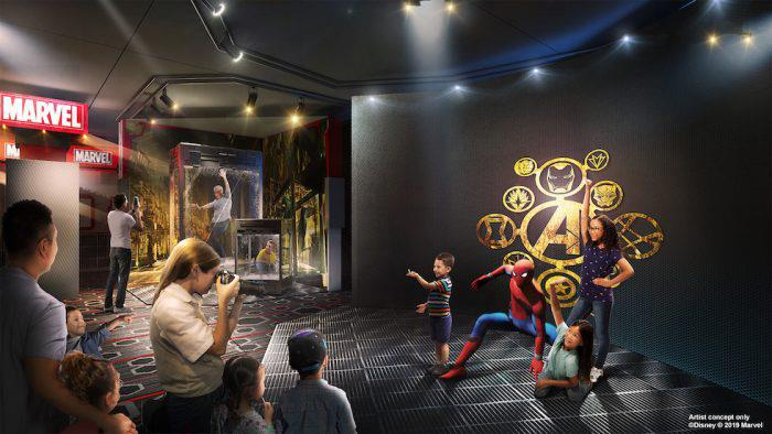 Superhero Station al Marvel Hotel di Parigi