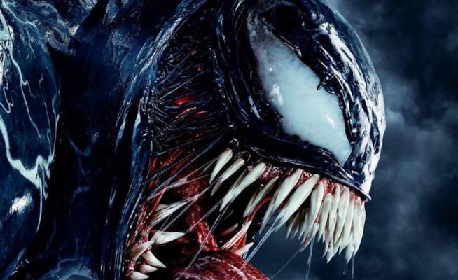 Un dettaglio del poster cinese di Venom