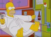 In foto la famiglia Simpson e altri abitanti di Springfield