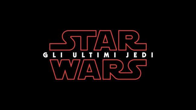 Star Wars il logo dell'episodio VIII