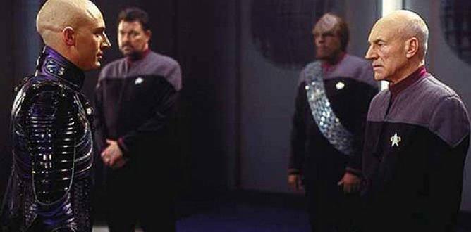 Una scena da Star Trek - La nemesi