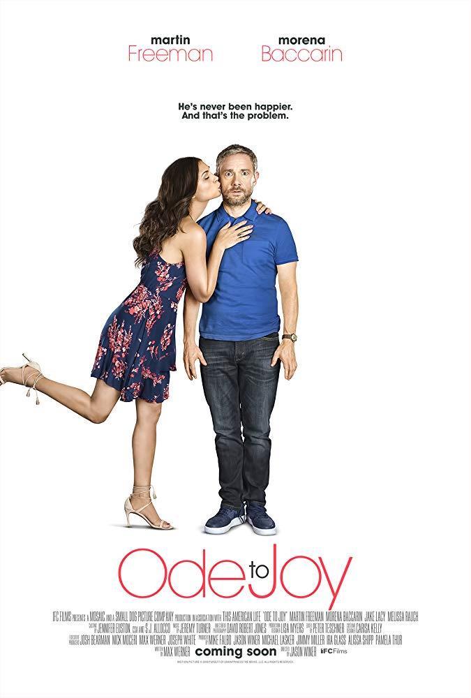 Martin Freeman e Morena Baccarin nel poster di Ode to Joy