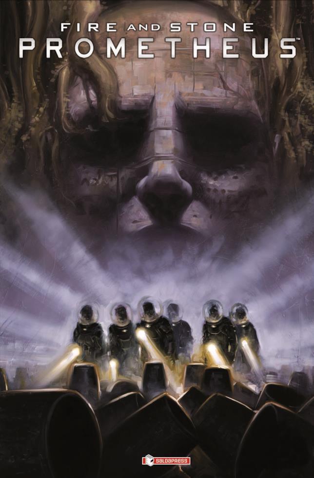 Cover del fumetto Prometheus Fire & Stone