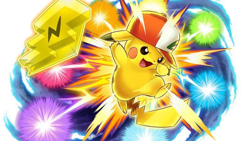 Pikachu con il berretto di Ash