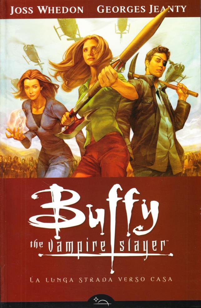 Copertina del fumetto di Buffy