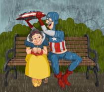 I supereroi Marvel e DC nell'età della pensione [GALLERY]