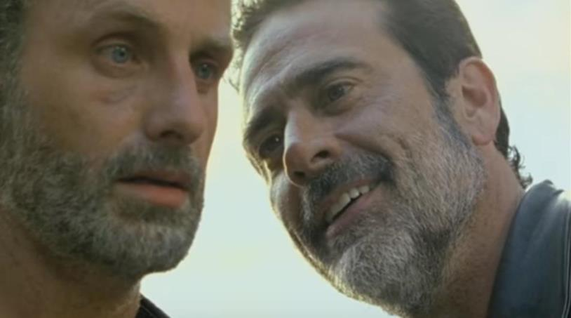 The Walking Dead 7x04: Rick e Negan