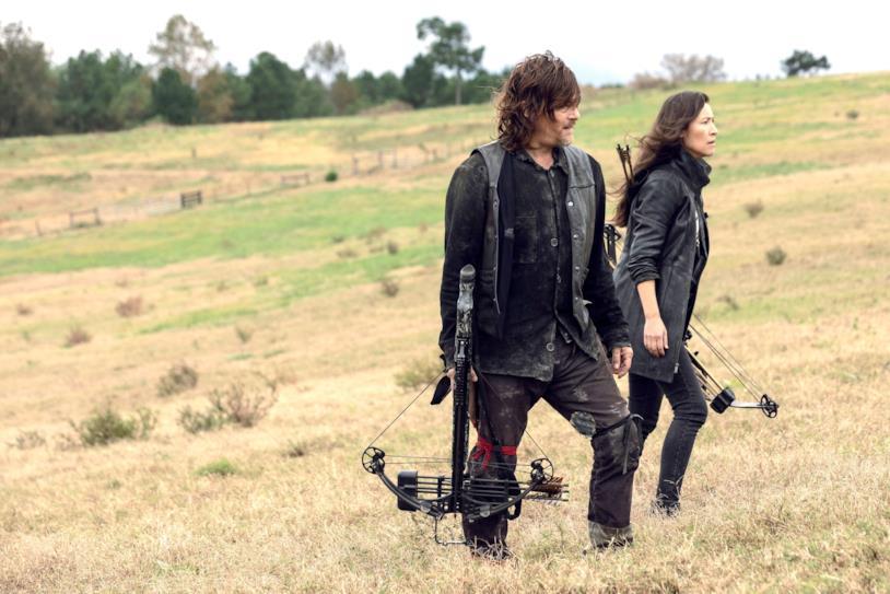 The Walking Dead: Daryl e Yumiko nell'episodio 9x15