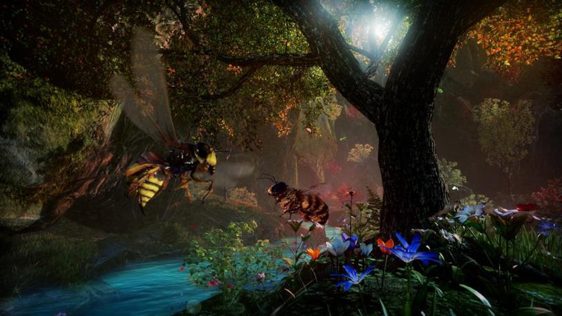 Un'immagine promozionale di Bee Simulator