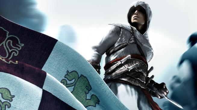 Un ritratto di Altaïr dal primo capitolo di Assassin's Creed