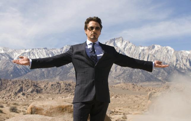 Robert Downey Jr. in una scena del film